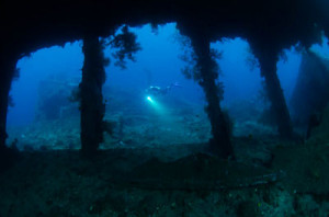 Scuba Diving the Liberty Wreck, Tulamben, Bali, Indonesia