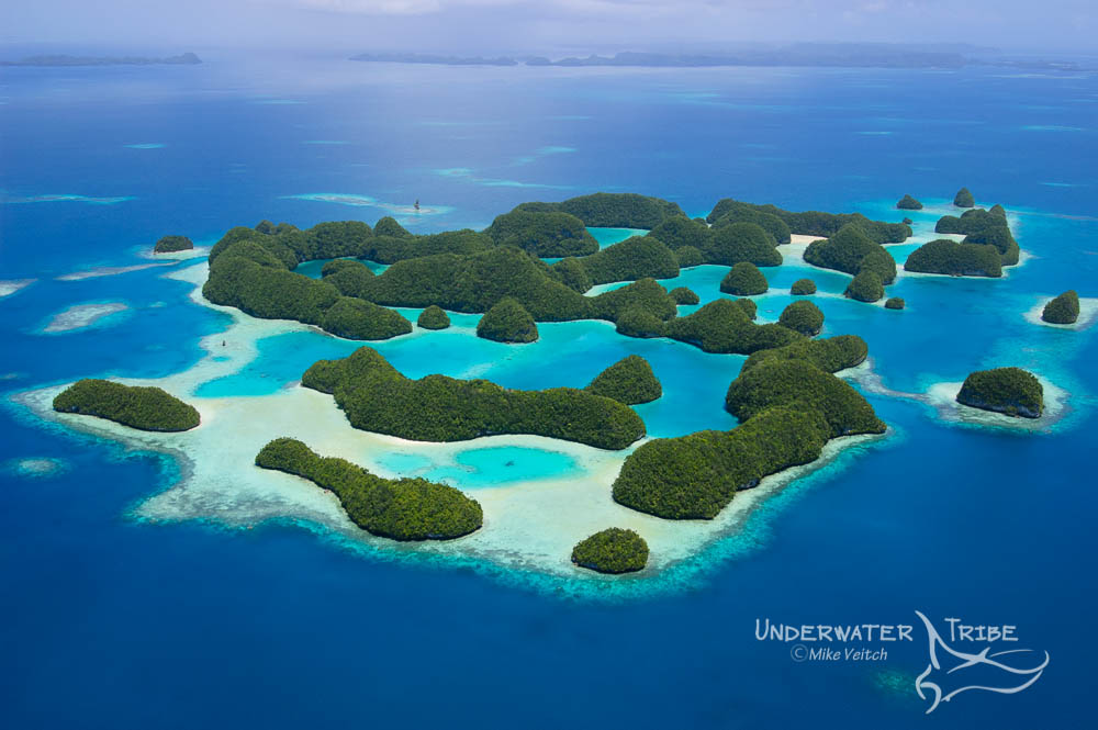 70 Islands Palau Micronesia