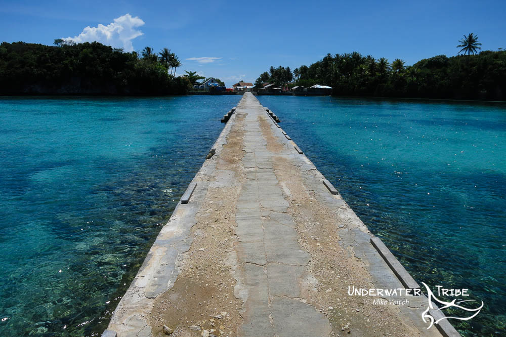 Jetty and shallow reef, Raja Ampat